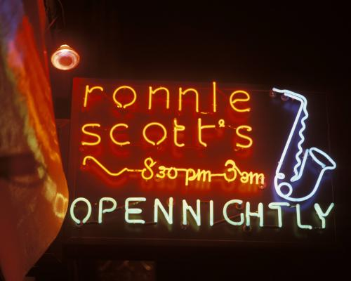 Ronnie Scotts Signage