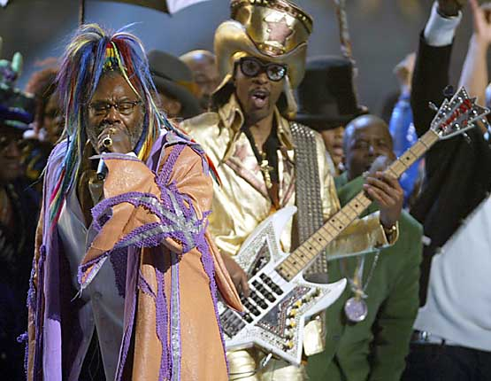 US-GRAMMYS-GEORGE CLINTON
