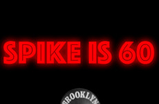 Spike is 60 poster